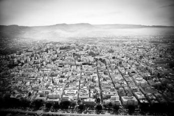 Italia, Reggio Calabria.Reggio Calabria vista dall' alto.