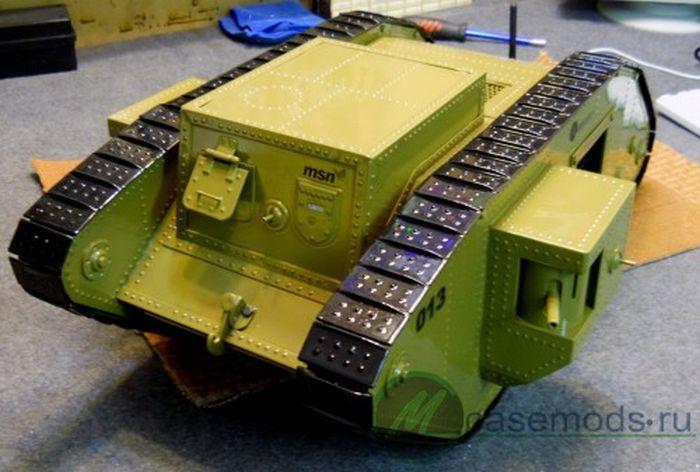Компьютер в виде танка MK-4 (111 фото)