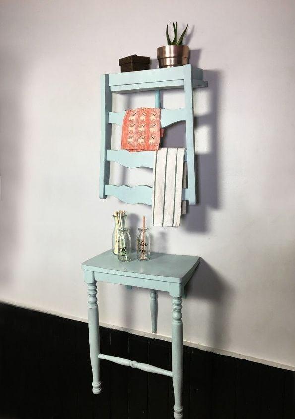 столик из старого стула
