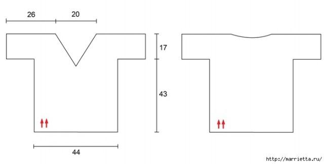 Летняя блуза крючком из голубой пряжи (5) (700x355, 45Kb)