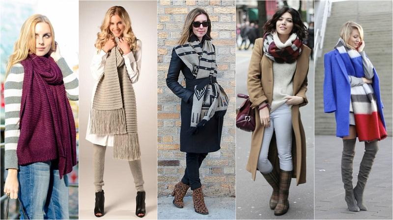 Шаль, платок, шарф… 10 идей, как завязать их, чтобы и ...