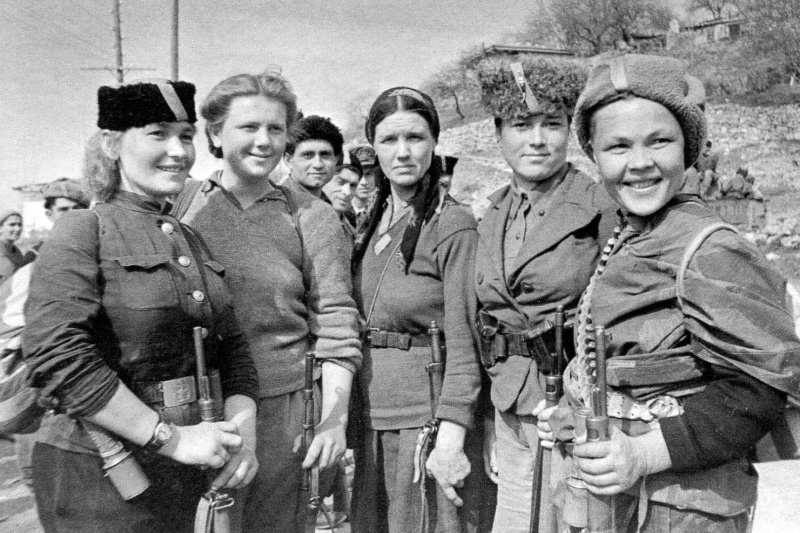 Женщины в Великой Отечественной войне. Фото