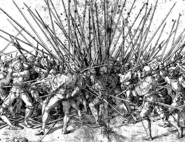 6. Пехотная пика (Оружие основной части Банды Ландскнехтов) европа, история. оружие, ландскнехты
