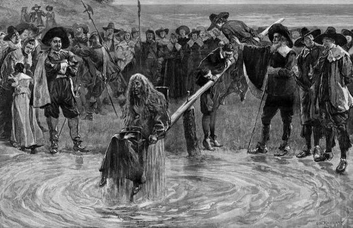 Наказание женщин, и пытки поражающие своей жестокостью в Средневековье