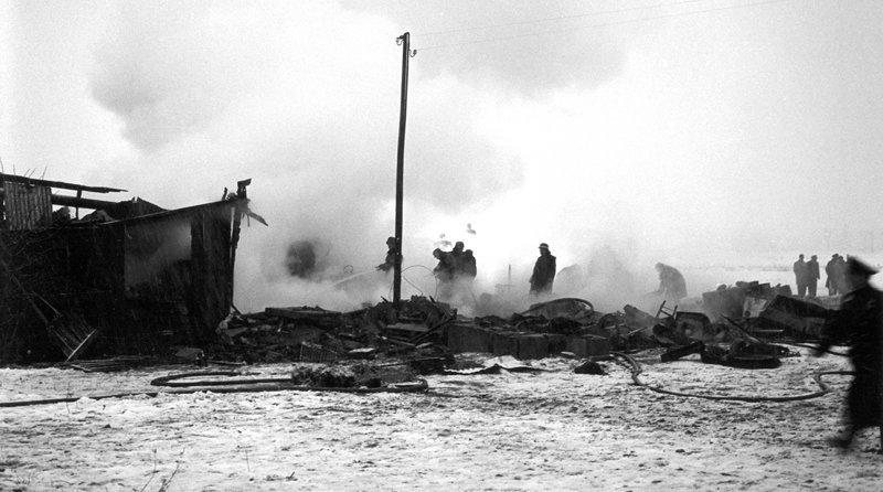 Последний полет «Манчестер Юнайтед»: 60 лет мюнхенской катастрофе Манчестер Юнайтед, мюнхенская катастрофа, фоторепортаж