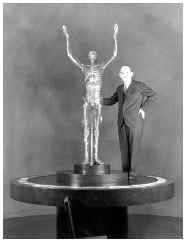 Франц Чакерт с манекеном Боргхильд, вермахт, германия, секс-кукла