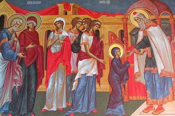 Введение во храм Пресвятой Богородицы Приметы картинка
