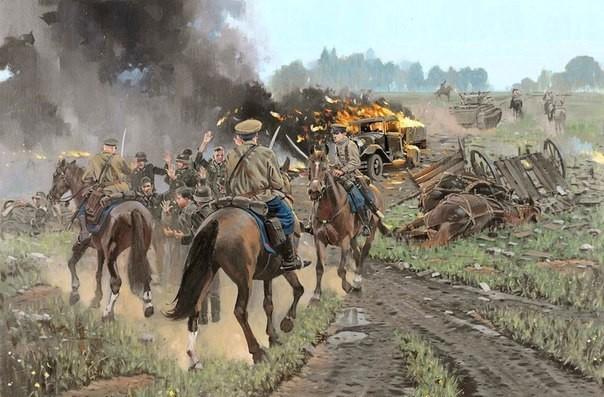 Как в Сталинграде кавалерия изрубила три румынских полка 4-й кавалерийский корпус РККА, Тимофей Тимофеевич Шапкин, история, кавалерия