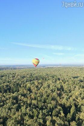 Татьяна Котова улетела на свидание на воздушном шаре ...