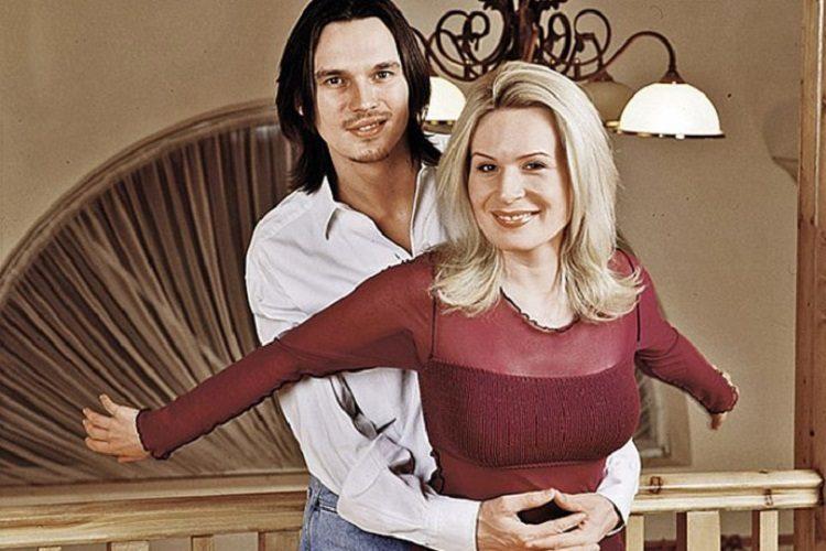 Влад Сташевский с женой. Фото