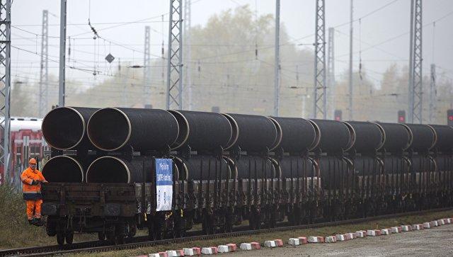 Трубы для строительства газопровода Северный поток - 2. Архивное фото