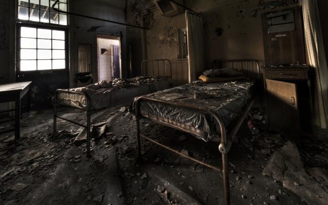 Больница Cane Hill Самые страшные места на планете. Просто жуть (фото и видео)