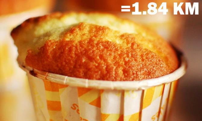 Небольшой кекс (34 грамма)