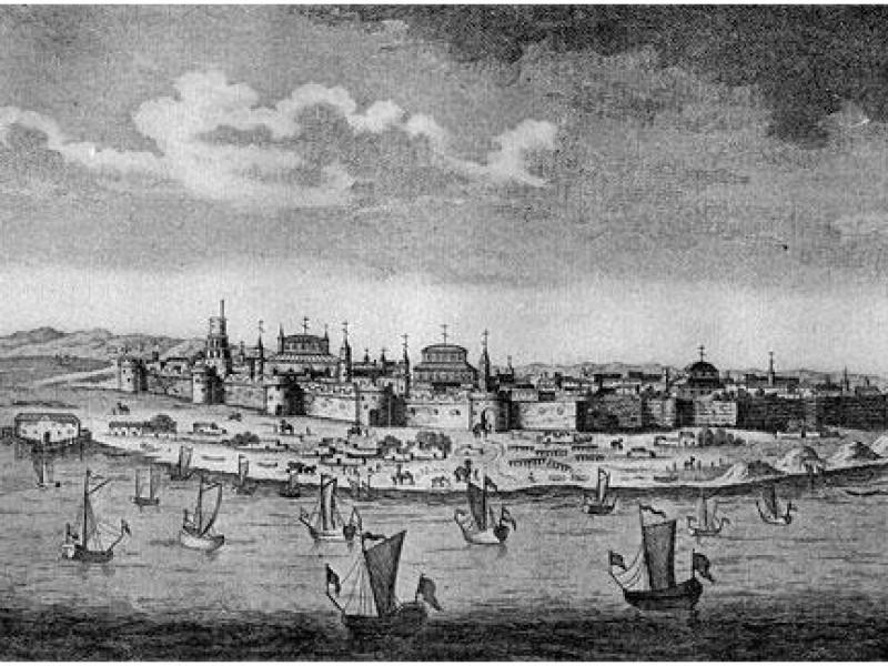 Покорение Астраханского ханства