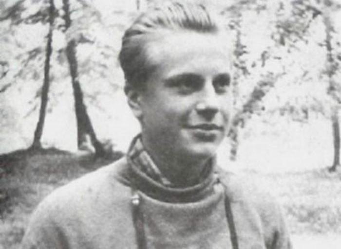 Юрий Богатырев в молодости. Фото