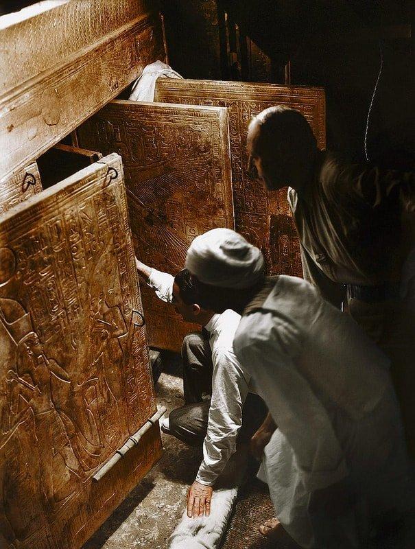 «Единственным примечательным событием в жизни Тутанхамона было то, что он умер» Джордж Герберт, Тутанхамон, египет, интересное