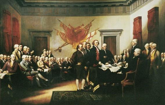Речь неизвестного при подписании Декларации независимости другая сторона реальности, загадки, сверхестественное, тайны