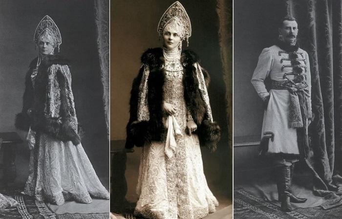 Зинаида Юсупова с мужем на последнем костюмированном балу империи, 1903 | Фото: liveinternet.ru