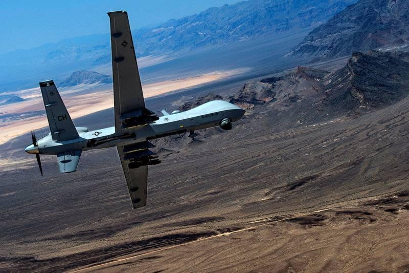 В США провели испытания дрона MQ-9 Reaper в воздушном бою