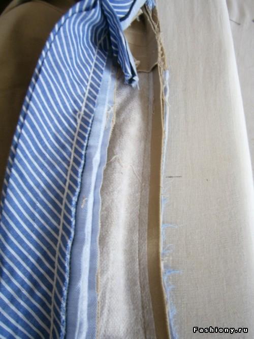 Устранение дефектов посадки брюк