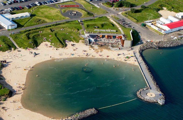Пляж - фото самых красивых и необычных пляжей в мире. Теплый пляж на Севере