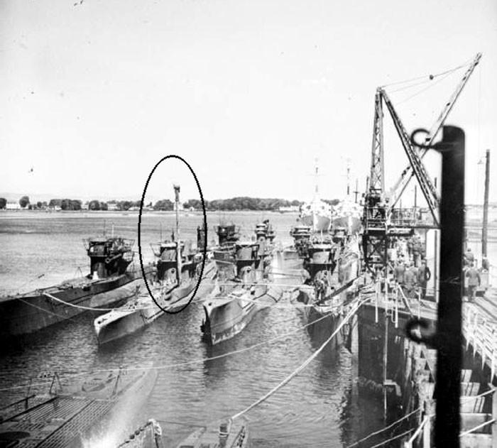 На фото шноркель вторая мирова война, история