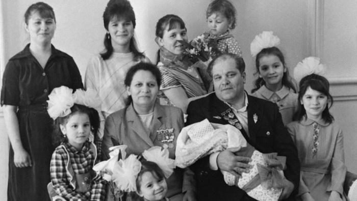 Многодетная семья как образец для подражания.