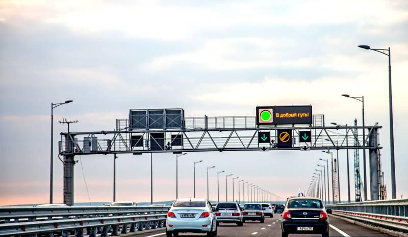 Крымский мост: «бомбануло» не только в Киеве