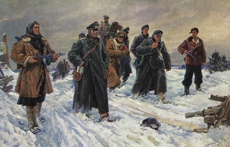Невероятные страдания оккупантов в России