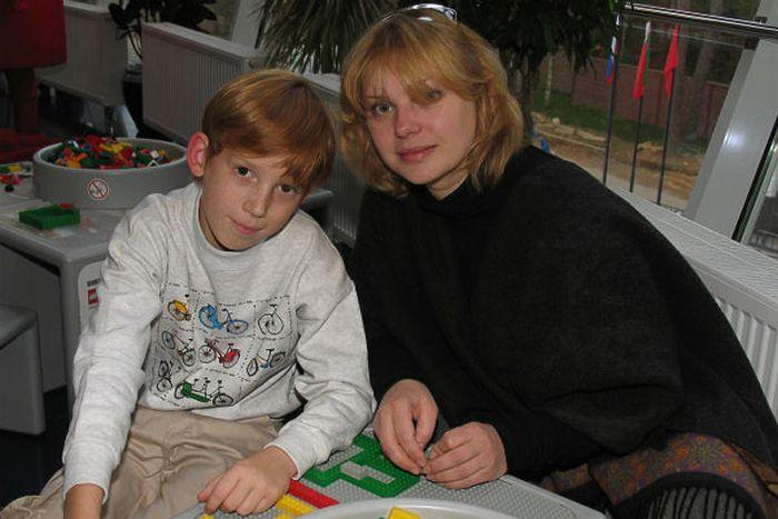 Ольга Машная с сыном. / Фото: www.24smi.org