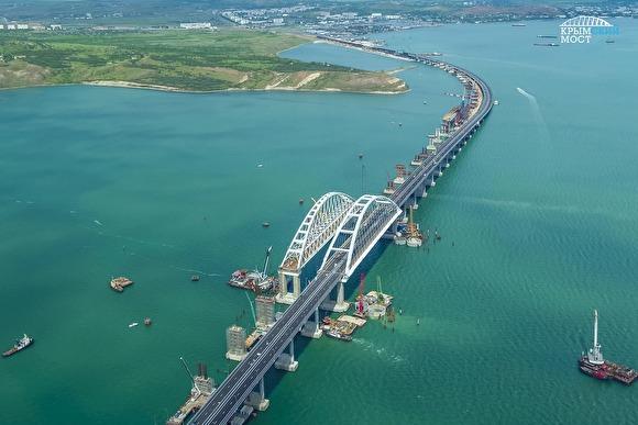 Крымский мост не позволит американскому флоту подойти к берегам Белоруссии