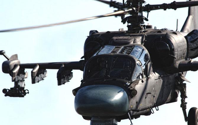 Всемирно известные боевые вертолеты