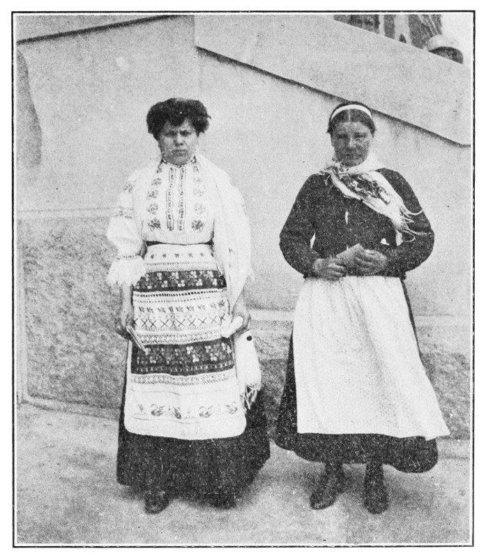 И дамы оттуда же америка, иммигранты, исторические фото, история, остров Эллис, факты