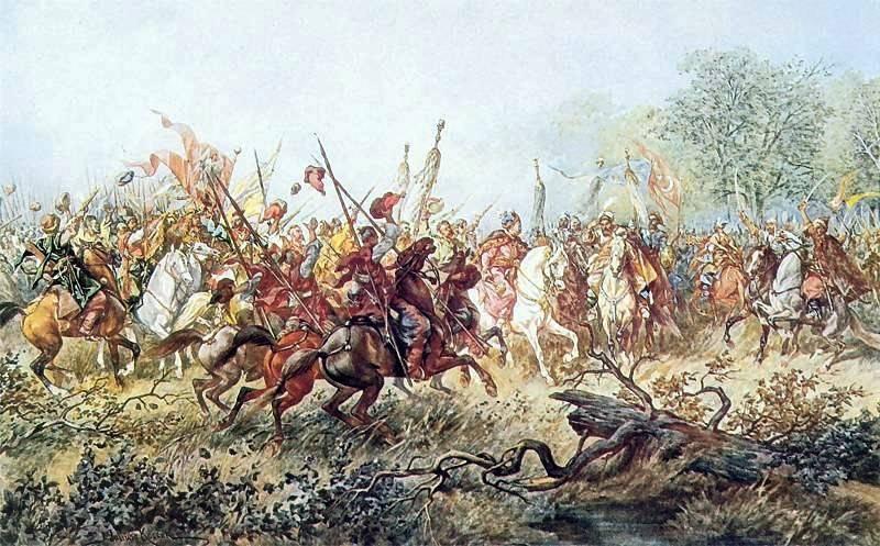 Уничтожение польской армии в Корсунском сражении