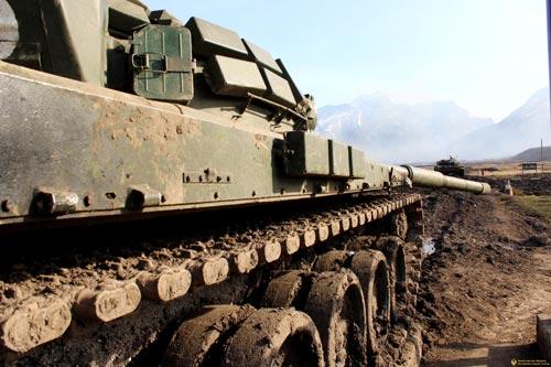 К началу военных действий 2008 года Южная Осетия располагала всего тремя исправными танками. Источник: alaniamil.org