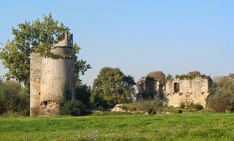 Руины замка Машкуль