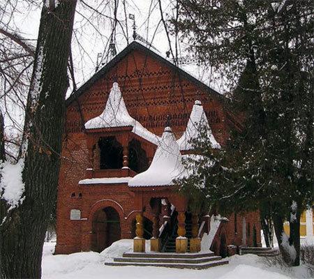 Княжеские палаты в Угличском кремле, где жил Дмитрий с матерью Марией Нагой