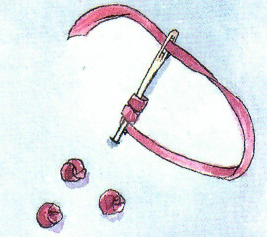 Φpaнцузский узелoк 7