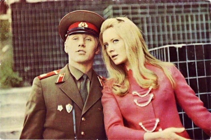 Как сложилась судьба Марианны Вертинской. Кадр из фильма *Семь невест ефрейтора Збруева*, 1970