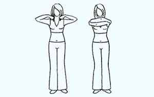 Обнять плечи