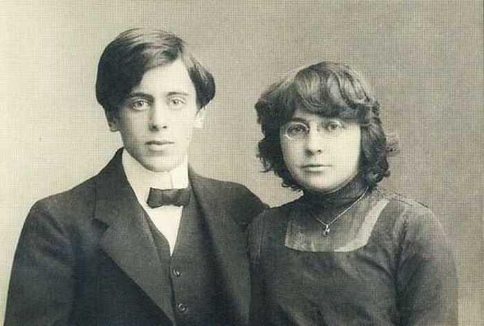 Марина Цветаева и Сергей Эфрон.