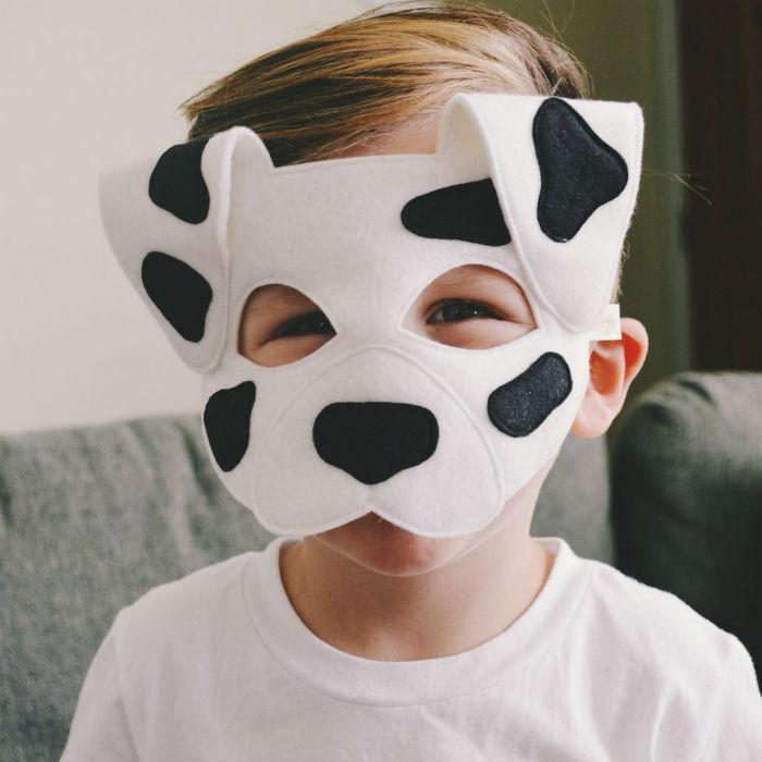 Новогодний костюм собаки — собираемся на карнавал!