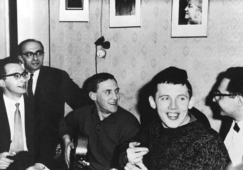 56. Актеры Таганки в гостях.Ленинград, 20 апреля 1967 года Владимир Высоцкий, Русские актеры, Русские поэты, история