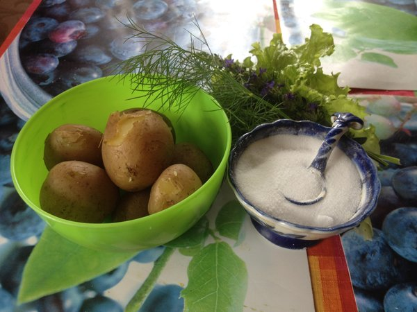 """Картошка с """"мясом"""""""