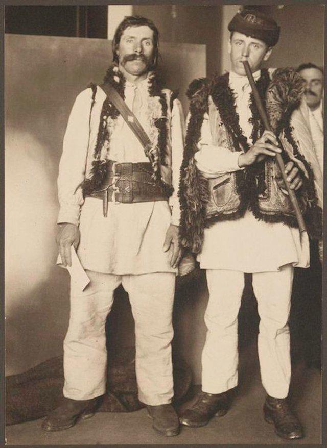 Гуцулы с Закарпатья, Венгерское королевство америка, иммигранты, исторические фото, история, остров Эллис, факты