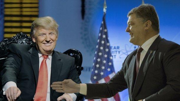 «Порошенко приходится бегать за Трампом, чтобы встретиться с ним раньше Путина»: ставка Украины на Клинтон не сыграла