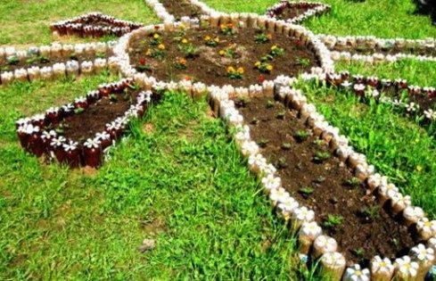 Идеи из пластиковых бутылок для дачи и сада - Самоделкино ...