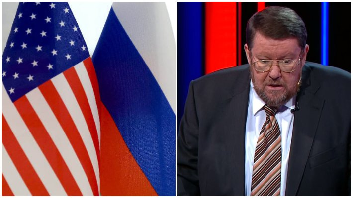 """Сатановский: или США изменят политику в отношении РФ, или нас ждет большая война / Коллаж: ФБА """"Экономика сегодня"""""""