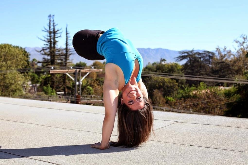 Чемпионка по гимнастике, родившаяся без ног