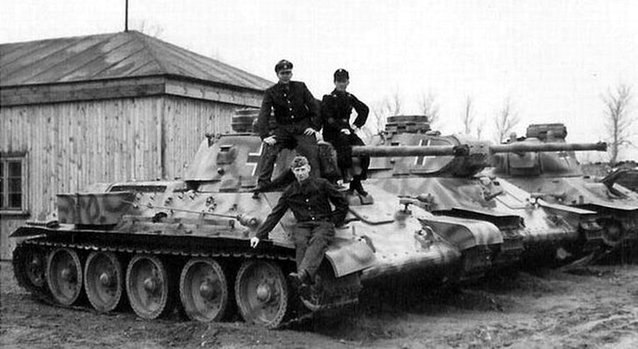 Советские танки в 1941